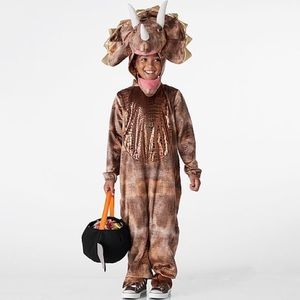 3T Glowing Light Up Triceratops Halloween Costume